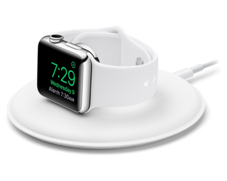 Apple Watch Magnetisk Laddningsdock - Vit