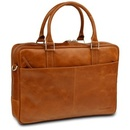 16'' Business Bag Rosenborg, Golden Tan