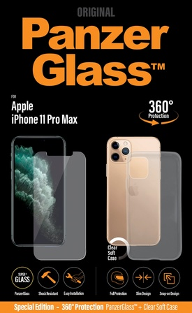 PanzerGlass Apple iPhone 11 Pro Max/w. PG Case